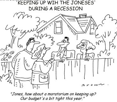 Keeping Up with the Joneses Jab