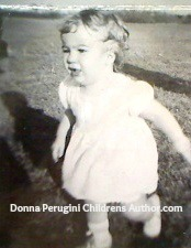 Donna Perugni Children's Author walk-running
