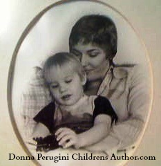 Donna Perugini Children's Author and son (c)2011