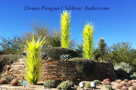 Attirant Chihuly Glass In Desert Botanical Garden, Phoenix, AZ