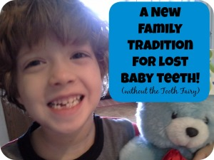 Celebrate Lost Baby Teeth